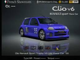 renault clio 2000 clio renault sport trophy v6 24v race car u002700 gran turismo wiki