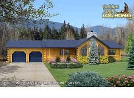 ranch log home floor plans golden eagle log and timber homes floor plan details log ranch