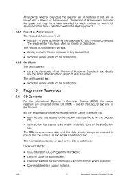 i d c s programme handbook 2008 final