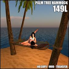 second life marketplace close encounters palm tree hammock