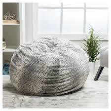 gray bean bags u0026 lounge chairs target