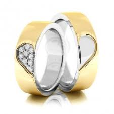 verighete din aur verighete din aur alb si galben cu diamante roxandy