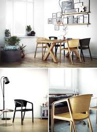 Contemporary Dining Set Dining Rooms Trendy Contemporary Solid Oak Dining Chairs Modern