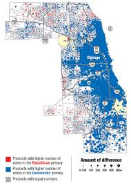 Joliet Illinois Map See How Your Neighbors Voted In Presidential Primary