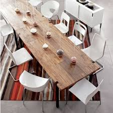 large reclaimed wood dining room table home interiors