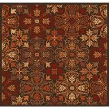 shaw accent rugs poinsettia brown 1 ft 6 in x 2 ft 6 in accent rug on daily rug