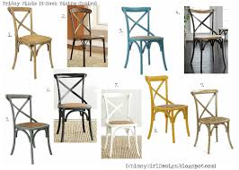 X Back Bistro Chair Whimsy Friday Finds X Back Bistro Chairs