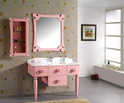 Painted Bathroom Vanity Ideas Pink Bathroom Paint Zamp Co