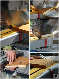 How To Use Table Saw Building A Nail Less Less Glue Less Birdhouse