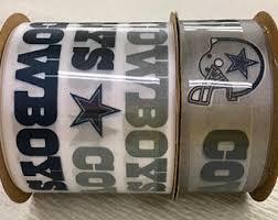 dallas cowboy ribbon dallas cowboys ribbon nfl ribbon cowboys grosgrain ribbon