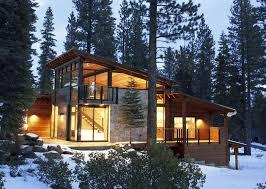 Small Mountain Home Plans - modern mountain house plans homeca