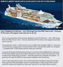 Largest Cruise Ship 668 Best Rcl Harmony Of The Seas Images On Pinterest Of The Seas