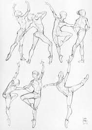 female gesture pose references some anatomical studies sport