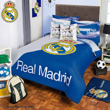 Soccer Comforter Amazon Com Real Madrid Comforter Set 5 Piece Twin Home U0026 Kitchen