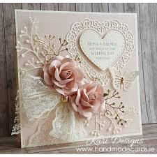 handmade cards beautiful handmade wedding card