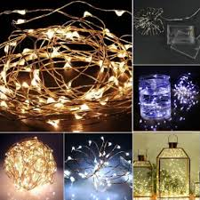outdoor christmas led lights battery operated 50 led battery