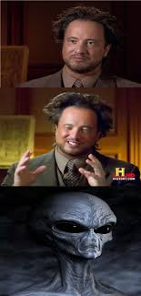 Meme Generator Aliens Guy - bad pun aliens guy blank template imgflip
