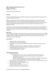 Senior Financial Analyst Sample Resume by Financial Analyst Job Description Functional Planning Processes