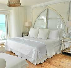 Beach Cottage Bedroom by Pure White Decor In A Remodeled Vintage Beach Cottage On Anna