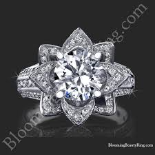 beautiful rings wedding images 2 08 ctw large hand engraved blooming beauty wedding ring set jpg