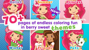 amazon com strawberry shortcake jumbo coloring book appstore for