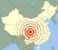 Corruption Map China Earthquake Map