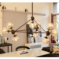 lighting for dining room stunning cluster pendant light in house design ideas pendant