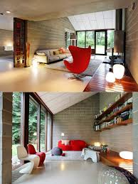 home interior design options interior design cool energetic living room with slanted roof