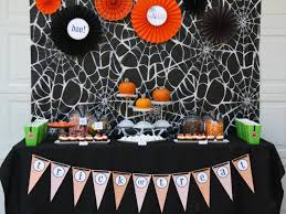 table decorations for halloween party
