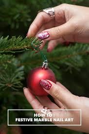 usc news festive marble nail art tutorial