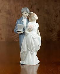 lladró wedding bells figurine home kitchen