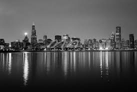 25 Beautiful Black And White by Chicago Photography Chicago Skyline Black And White 8