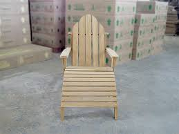 Adirondack Bench Teak Adirondack Chair W Stool