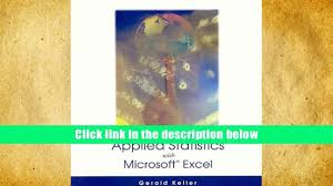 audiobook applied statistics with microsoft excel gerald keller