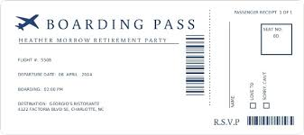 boarding pass invitations template boarding pass invitation