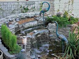 Fountains For Backyard by Water Fountains Front Yard And Backyard Designs Garden