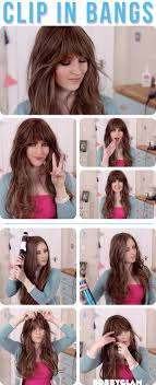 see what you would look like with different color hair how to get a look with bangs without cutting your hair alldaychic
