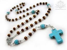 wooden rosaries mens wood rosary cross boys rosary wooden rosaries