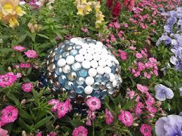 Gazing Globe Stand How To Make A Contemporary Garden Gazing Ball Hgtv