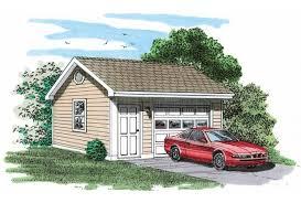 eplans garage plan one car garage plan 320 square feet and 0