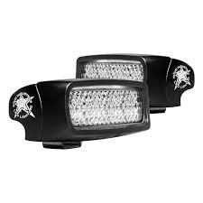 rigid industries backup light kit rigid industries 980023 sr q series black surface mount diffused
