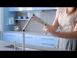 kohler karbon kitchen faucet kohler tv commercial miss dimitra karbon articulating kitchen