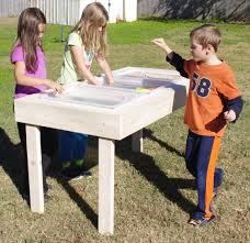 tall sand and water table 59x30 sand and water table