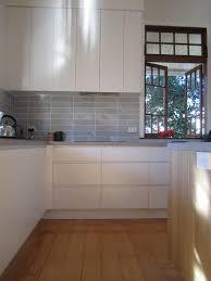 brisbane kitchen design sherwood contemporary kitchen 2 pac cabinetry integrated handles 4 jpg