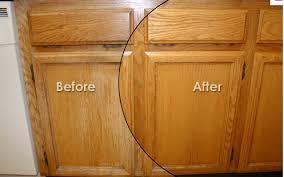 how to clean oak cabinets kitchen refinishing kitchen restoration