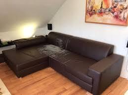 sofa verschenken sofa zu verschenken braunes kunstleder in schwaikheim polster
