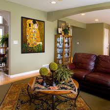 Oil Paintings For Living Rooms Transitional Family Room - Painting family room