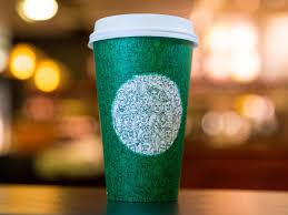 starbucks criticised for u0027politicising u0027 coffee with green cup