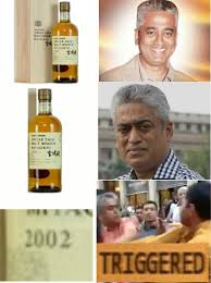 Whisky Meme - 2002 rajdeep sardesai triggered comics know your meme