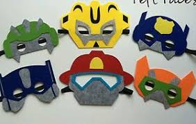 transformers rescue bots party supplies 6 transformers rescue bots masks party favors supply